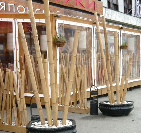 Дома из бамбука в россии вакансии саратов рубеж торговый дом